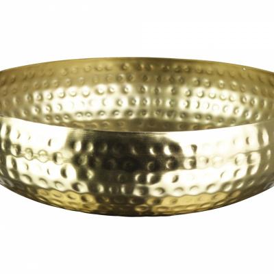 Skala Ø22x55cm Gold.