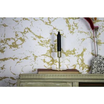 Gouden Ronde Kandelaar - 8x8x10cm