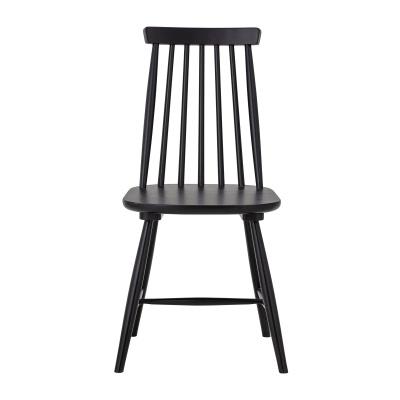 Gilli Dining Chair Black Rubberwood