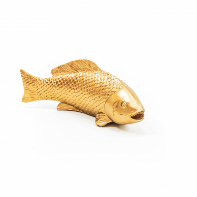 Goldener Fisch-24x10x7 cm-hobervitamin