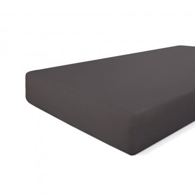Anbaufolie knusprige Baumwolle Anthrazit - 160x220 cm