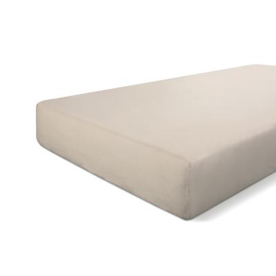 Hoeslaken Crispy Cotton Zand - 80x200 cm