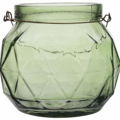 Teelichthalter Ø12xh11cm grün