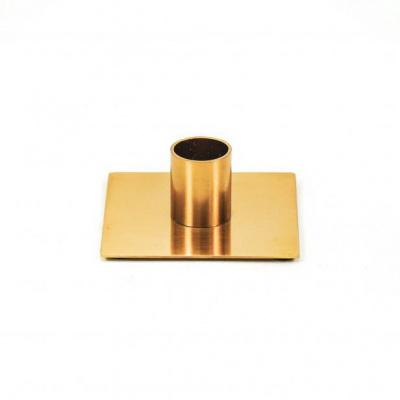 Kandelaar Vierkant - Goud - 8x8x3cm