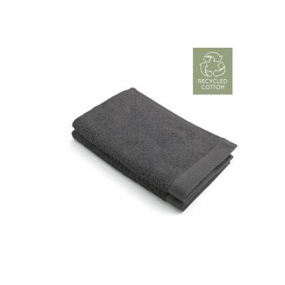 Guest Dusche Remade Baumwolle Anthrazit (Set 2 Stück) - 30x50 cm