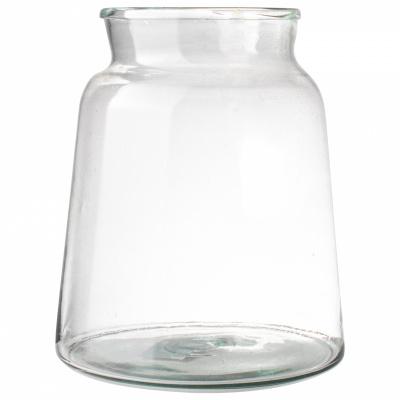 Vase Recyclingglas Ø21x22cm