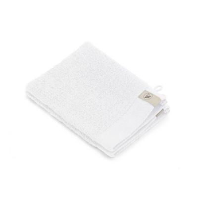 Washand Soft Cotton Wit (set 2 stuks) - 16x21 cm