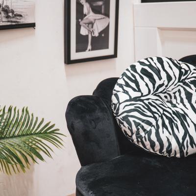 Zebra Kussen-Ø 35cm