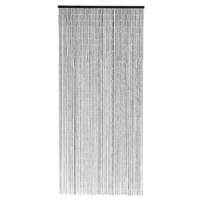 Bamboegordijn W. 90 Strijkers, Zwart