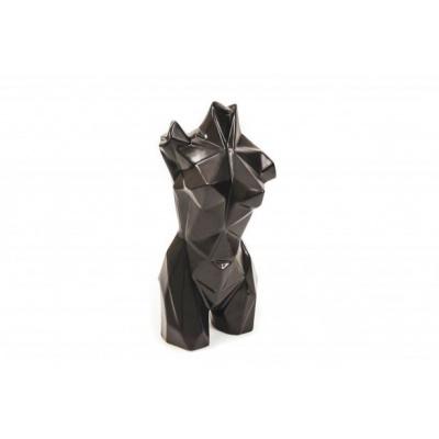 Body Geometrisch-Zwart -13x9,5x24cm