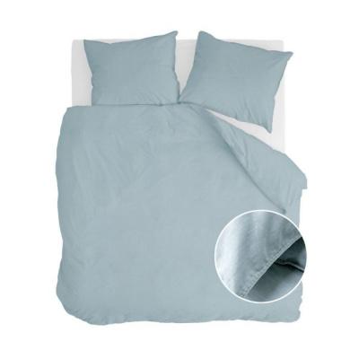 Dekbedovertrek Vintage Cotton Jeans Blauw - 240x220 cm