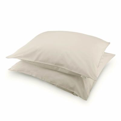 Kussensloop Crispy Cotton Zand - 2x 80x80 cm