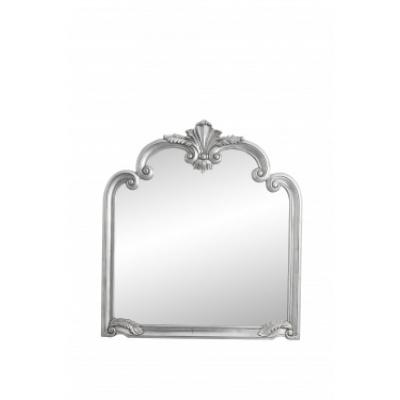 Angel-Wandspiegel, Silber