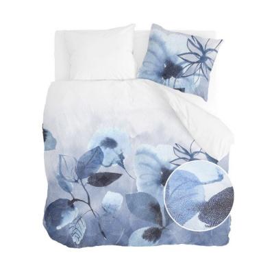 Dekbedovertrek Sweet Mundane Wit / Blauw - 200x220 cm