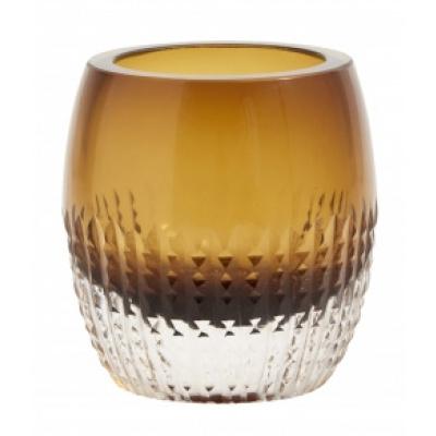 Glas Votive, Amber, Voor Waxinelichtje