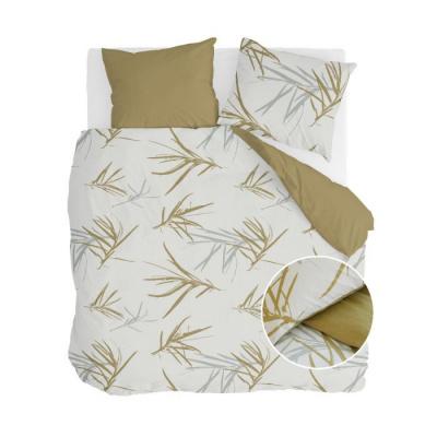 Dekbedovertrek Remade Bamboo Grasses Honing Mosterd - 240x220 cm