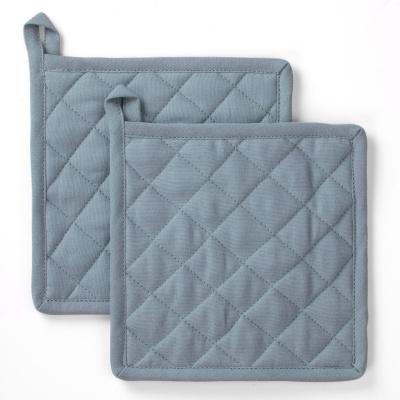 Pannenlap Stay Cold Blauw - 2x 20x20 cm