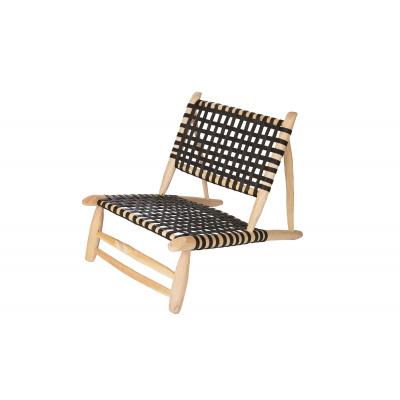 Sessel schwarz natürlicher natürlicher Sitz natürlich