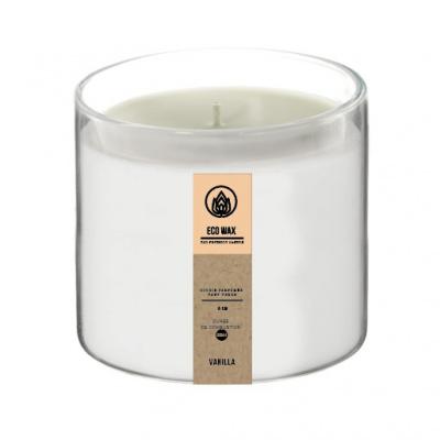 Duftkerze Ø8x75cm Vanille - Eco Wachs