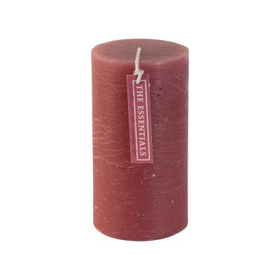 Rustikale Kerze 68x13cm altes Rosa