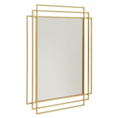 Square Spiegel, Gouden Afwerking