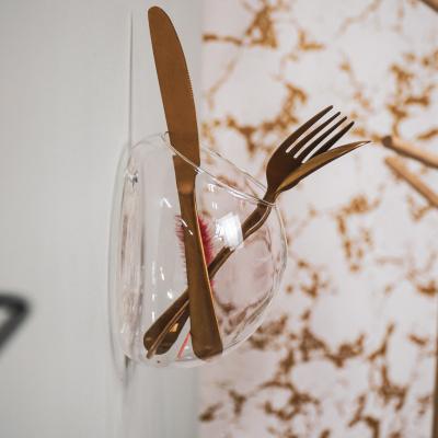 Muurvaas van Glas 15x10x15 cm