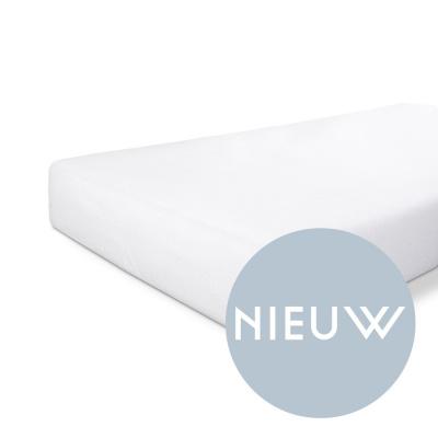 Molton Baumwolldeckel weiß - 80x200 cm