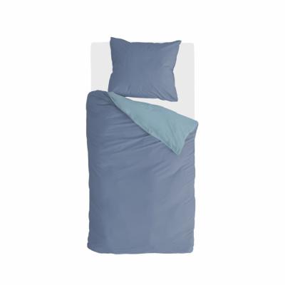 Dekbedovertrek Side Way Donker Blauw / Blauw - 155x220 cm