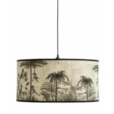 Baubo hanglamp natuur / zwarte print