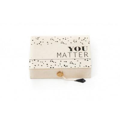 You Matter Box - 15x11x4 cm