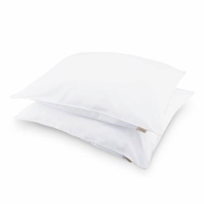Kussensloop Crispy Cotton Wit - 2x 80x80 cm