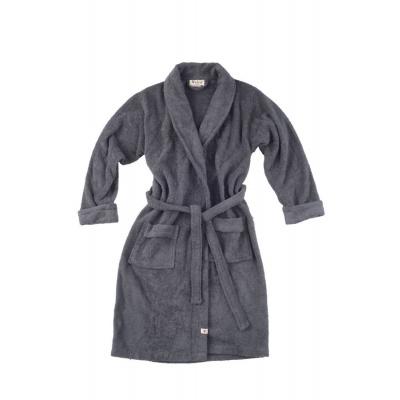 Badjas Home Robe Antraciet - S/M