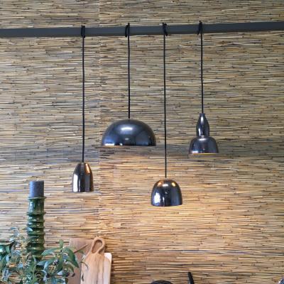 Keramische Lampenkap Antraciet Metal-Work-S