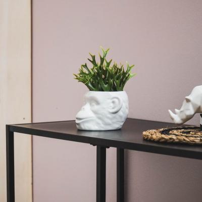 Kunstplant Bosje - Staghorn - 22x22x13cm