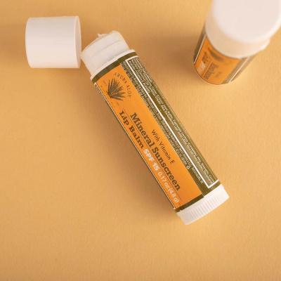 Zonnebrand lippenbalsem met SPF15