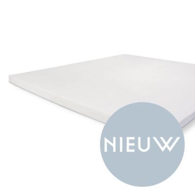 Hoeslaken Crispy Cotton Topper Wit - 90x200 cm