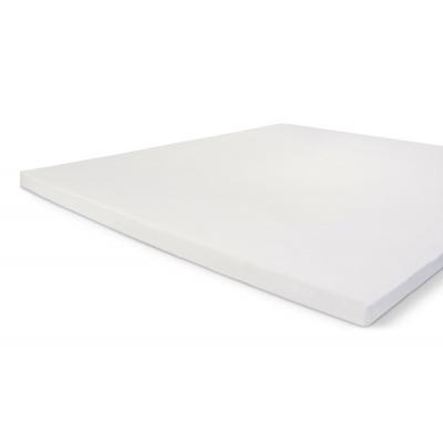 Einbaublech knusprig Baumwolltopf Weiß - 80x200 cm