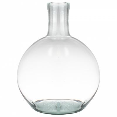 Vase-Kugel Recyclingglas Ø22x31cm