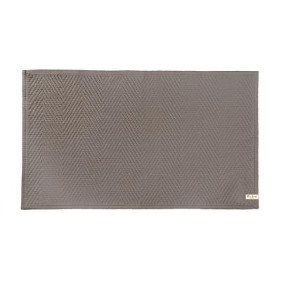 Badmat Weiche Baumwolle Taupe - 60x100 cm