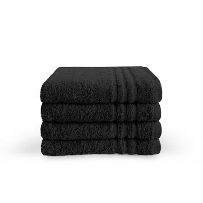 Baddoek Bath Basics Zwart - 50x100 cm