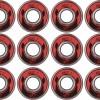 Afbeelding van 16 Lagers abec 7 met diverse bitjes in een houder.