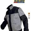 Afbeelding van Blaklader werkjas 4075-1507 grijs/zwart EN531 en EN470-1, XXL