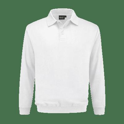 Foto van Indushirt PSO 300 (OCS) Polosweater wit