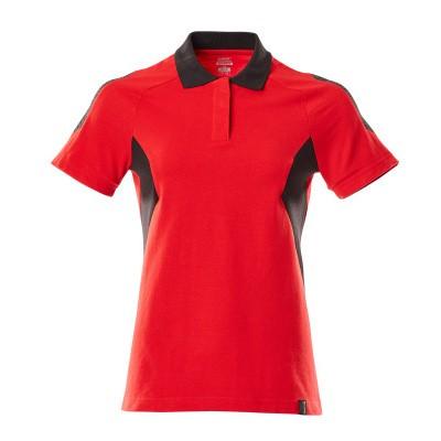 Foto van Mascot 18393-961 Poloshirt signaal rood/zwart