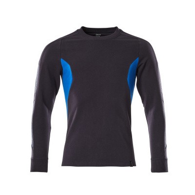 Mascot 18384-962 Sweatshirt donker marine/azur blauw