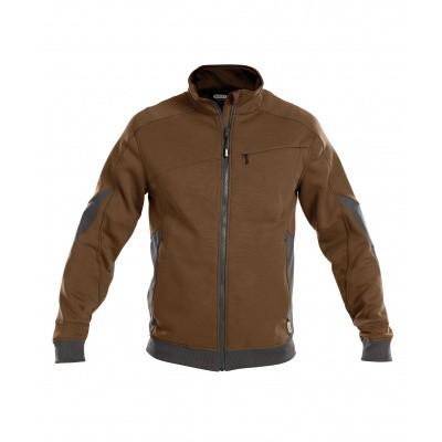 Foto van Dassy sweater VELOX | 300450 | leembruin/antracietgrijs