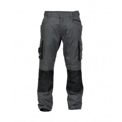 Foto van Dassy stretch broek NOVA | 200846 | antracietgrijs/zwart