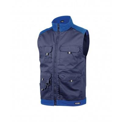 Dassy bodywarmer FARO | 350077 | marineblauw/korenblauw