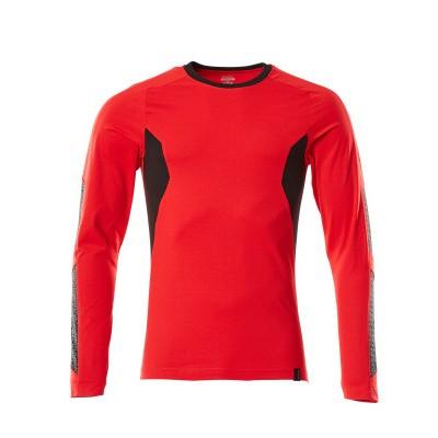 Foto van Mascot 18381-959 T-shirt, met lange mouwen signaal rood/zwart