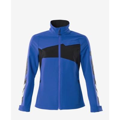 Mascot 18008 jack, dames, stretch, lichtgewicht azur blauw/donker marine